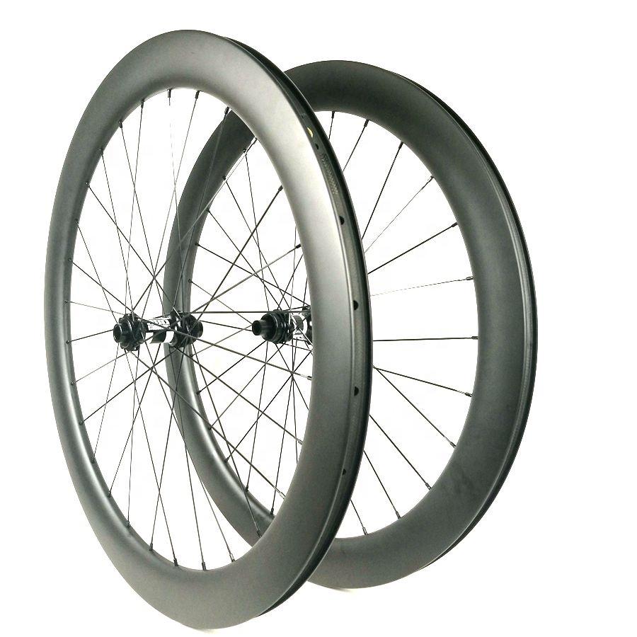Synergy 60MM Chinese Road Disc Brake Wheel DT350 Central Lock Road Bike Wheels 700C Disc Carbon Fiber Wheel