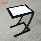 New Design Customized Solid Surface Table Acrylic Solid Surface Mini Side Coffee Table