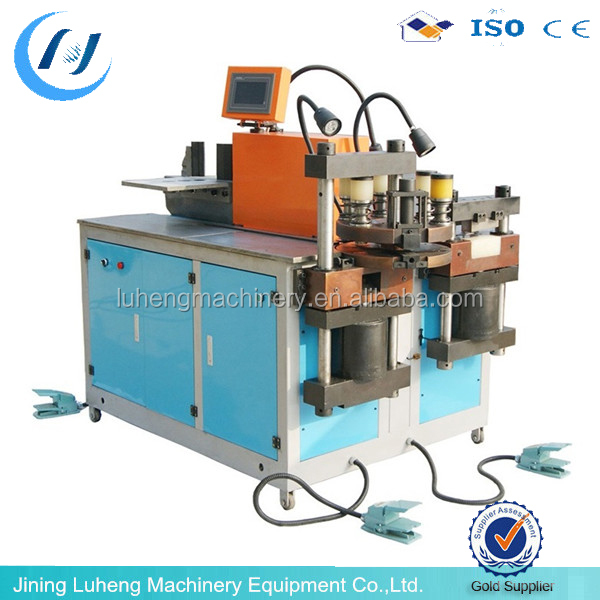 LH company 3 in 1 CNC automatic Iron steel processing baler machine