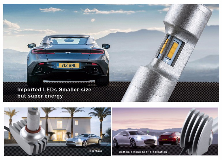 2016 New product LED Car Headlight H1 H4 H7 H11 CREES LED Headlight Bulbs led headlight 60w