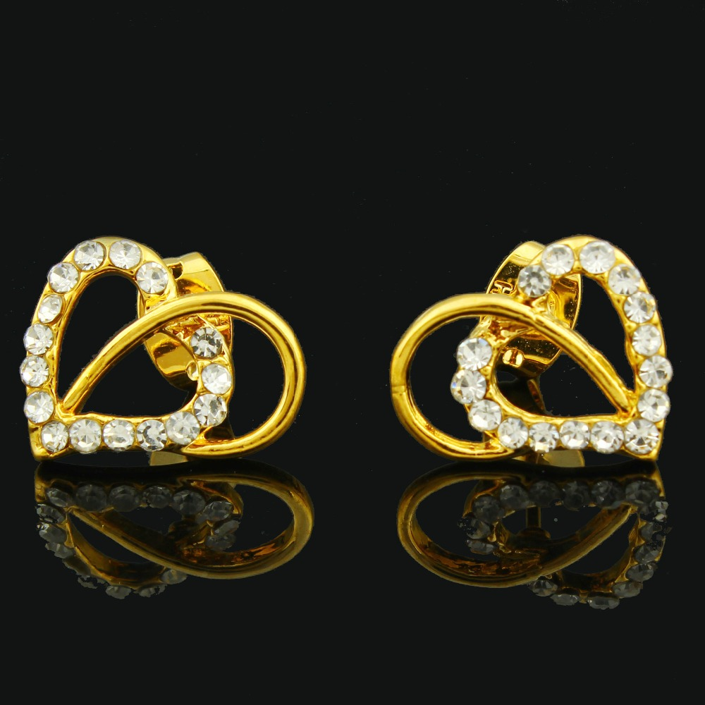 shopping online collection joyalukkas product india gold stud earrings jewellery yellow impress store