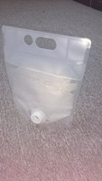 plastic bag in box packaging for wine , juice , oil bib