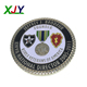 Epoxy Dome Custom Police Challenge Coin