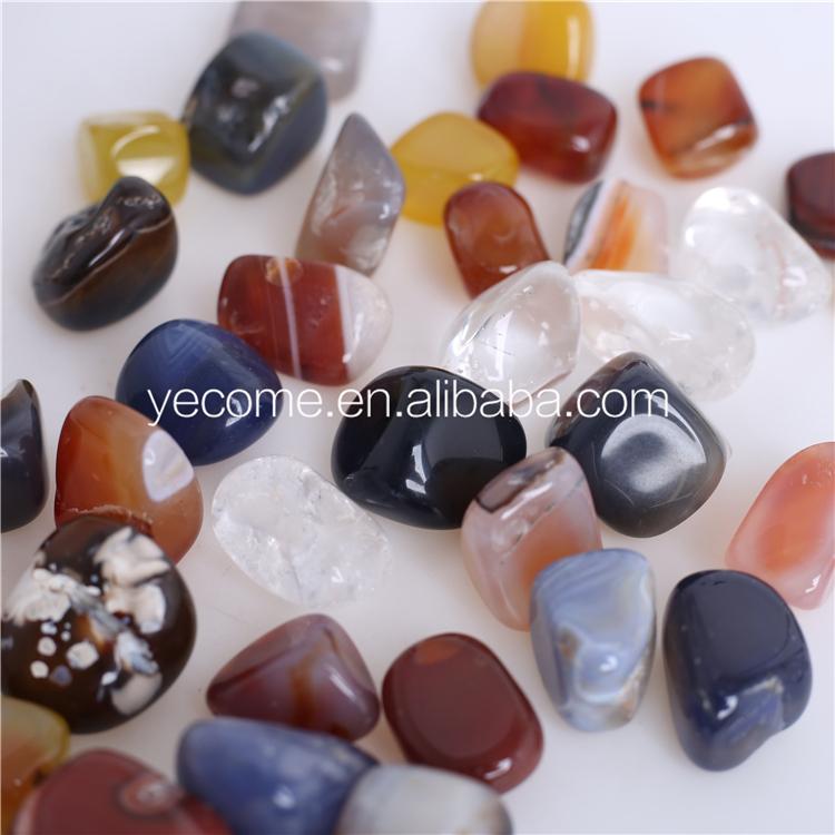 Mélanger le prix de la pierre de guérison de cristal de couleur de cristal de roche