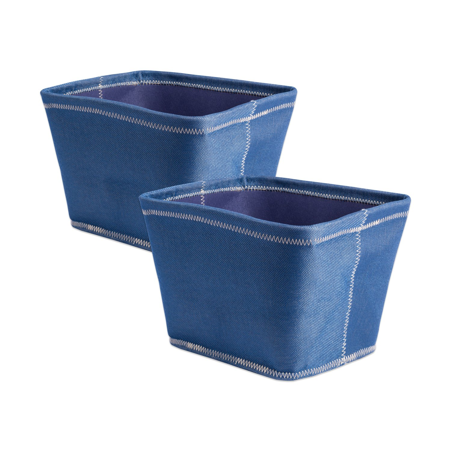 Get Quotations · DII Collapsible Polyester Storage Basket Or Bins, Home  Organizer Solution For Home, Office Desk