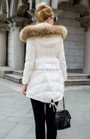 GZY wholesale women fur coat at low price