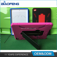 Hybrid Shockproof Child Proof Silicone PC Combo Tablet Cover Case For iPad 5th Generation/ A1823/ A1822