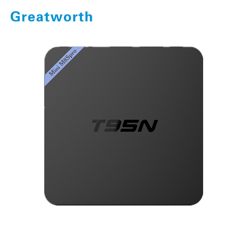 2017 New Arrival free to air internet receiver 2GB DDR3 S905 Android 5.1 Tv Box Google Play Store App Free Download T95N