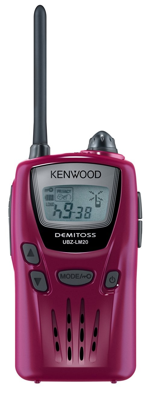 Transceiver Kenwood Ubz-lm20 Mani Hercule Red Ubz-lm20rd Specified Low-power (Kenwood) Demitosu