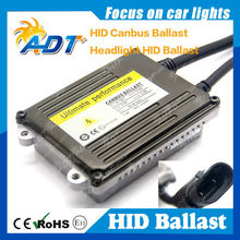 Automobile HID ballast hid conversion kit high quality OEM AC stable slim canbus ballast 9-32V 35W 55W 75W headlight car part