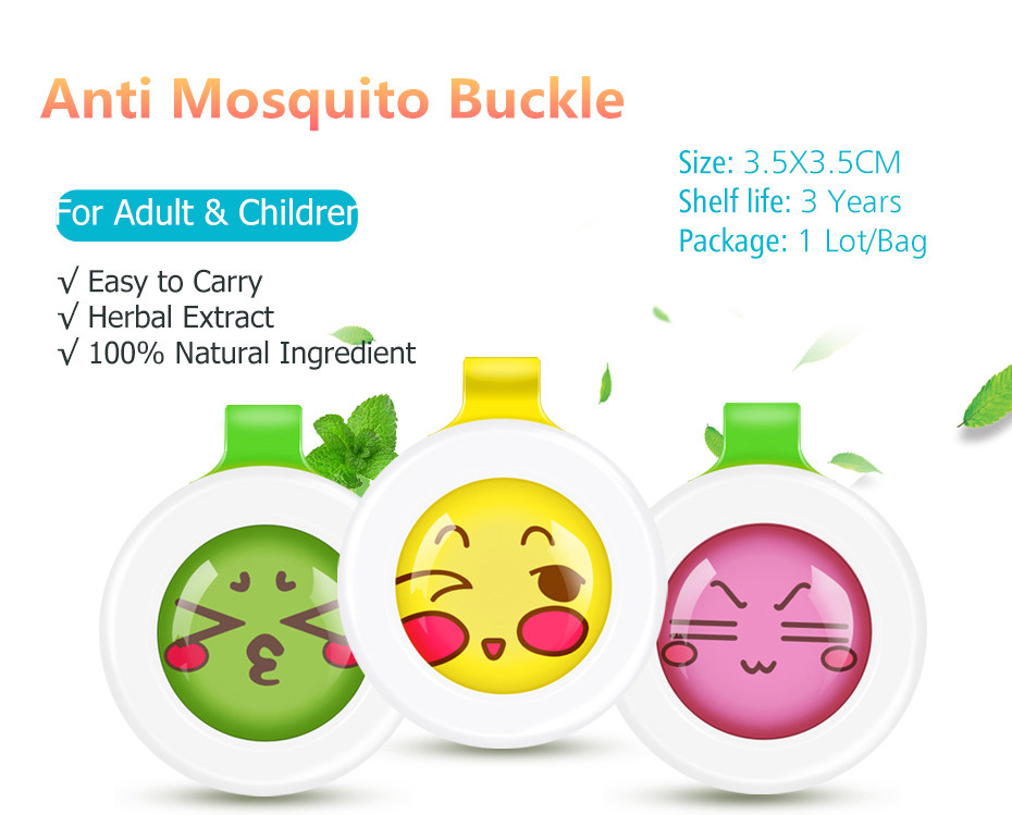 Manufacturer 100% Natural insect repellent buckle for baby