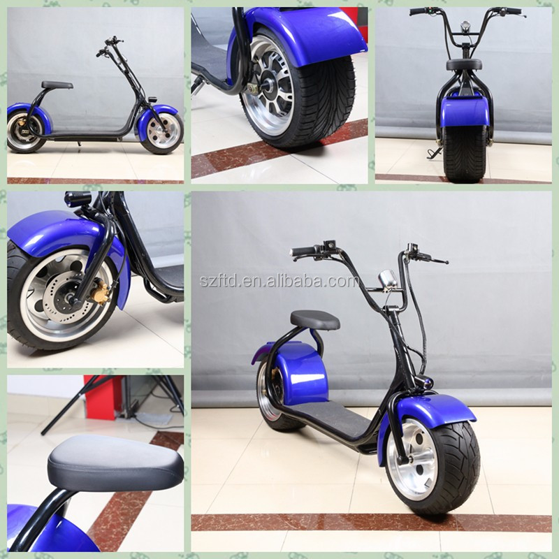 800W latest popular off road citycoco scooter E-bicycle motorcycle harley electric scooter