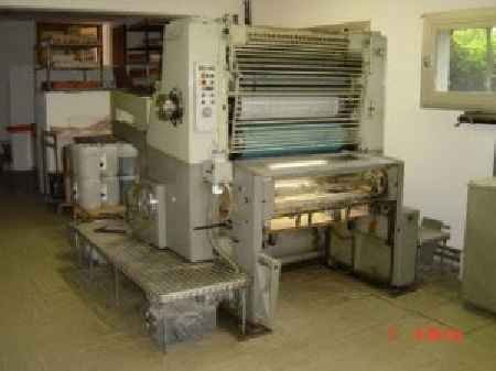 Used offset MILLER 36SC + Copy plate AGFA DUPLIPHOT 1100 machine