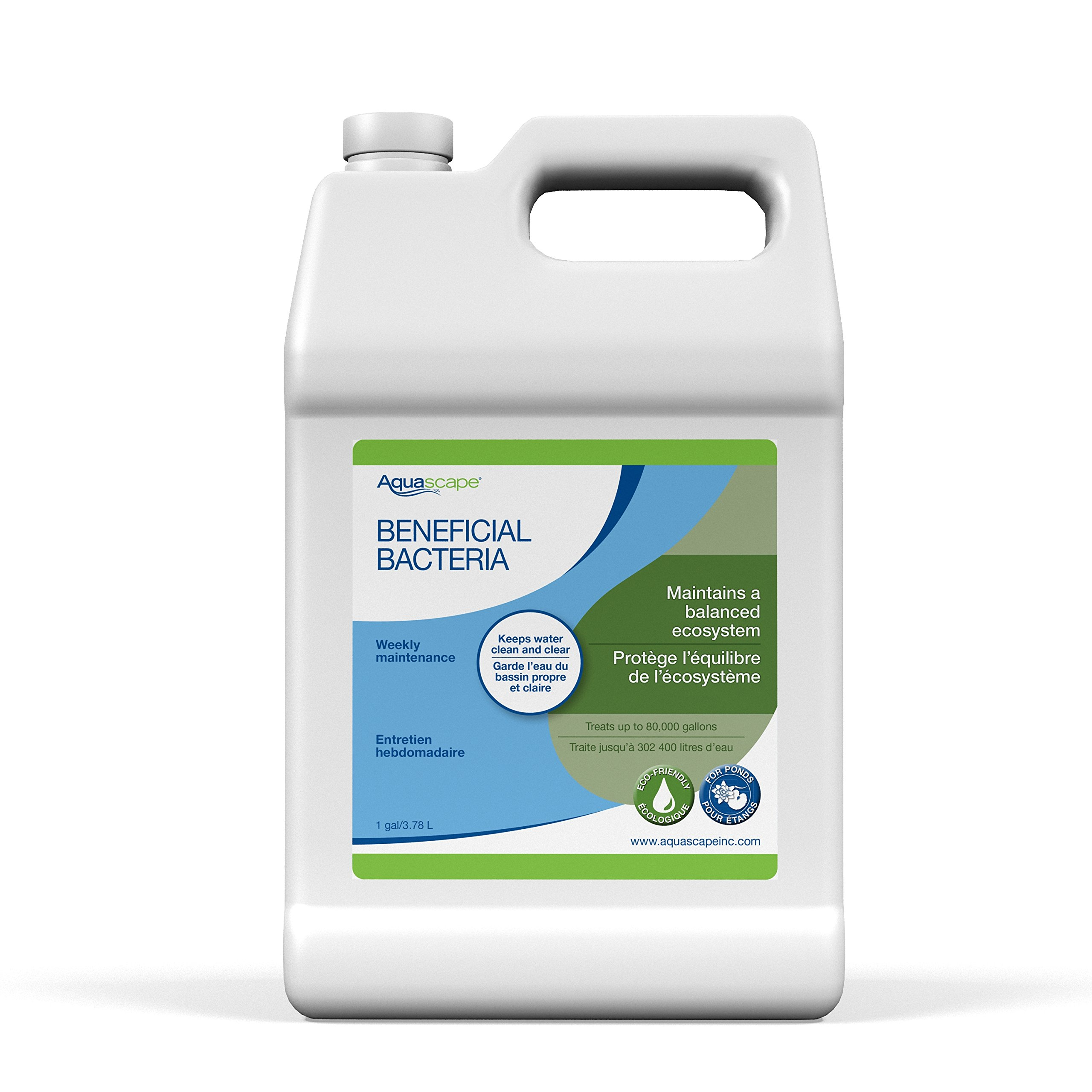 Aquascape Beneficial Bacteria for Pond and Water Features, Liquid, 1-Gallon Bottle   98885
