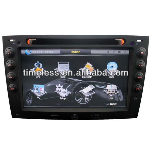 Auto Radio Renault Megane 3 with Phonebook iPod BT RDS ISDB-T DVB-T