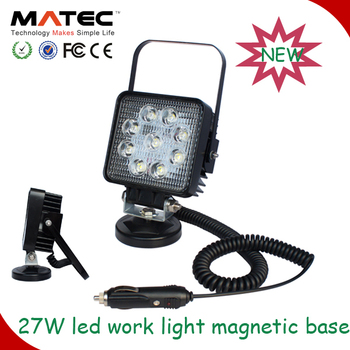 magnetic led work lamp 10w 15w 16w 18w 24w 27w 48w portable work light
