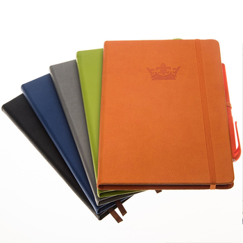 Wholesale handmade classic leather traveler's notebook with pen holder