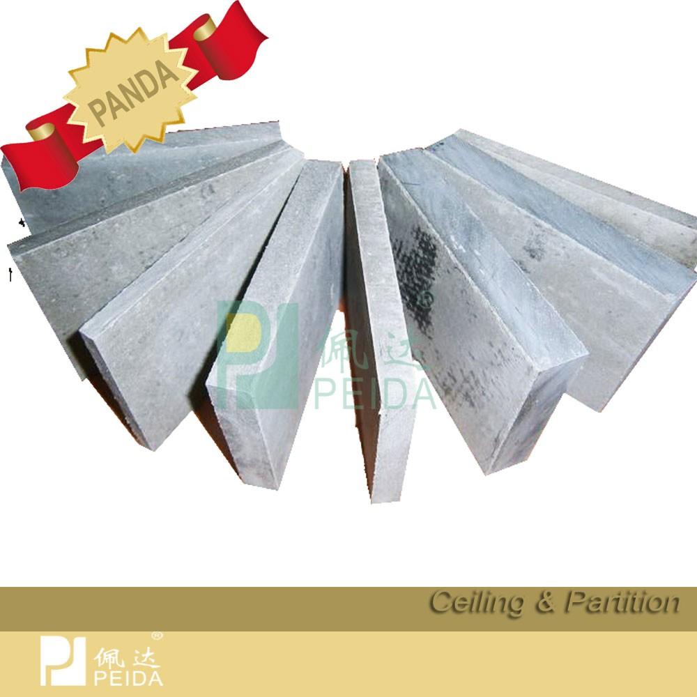 Decoration Dermatoglyph Plica Pattern Cement Board