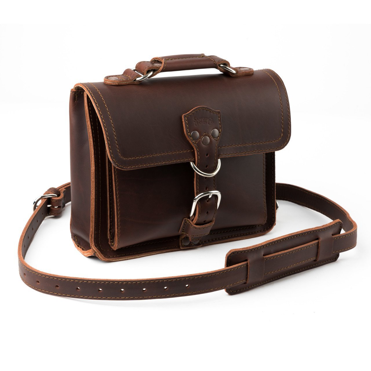 Get Quotations Saddleback Leather Tablet Bag Best Full Grain Ipad Satchel Or Kindle With 100