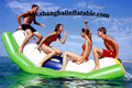 inflatable water games inflatable floating SEESAW inflatable floating islands water park inflatables