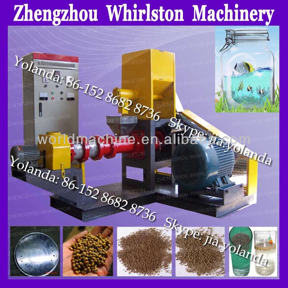 automatic floating fish food processing machinery/ fish food machinery