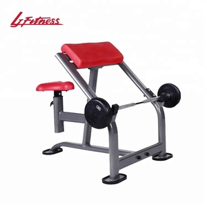commercial fitness sports equipment weight scott bench seated preacher curl bench