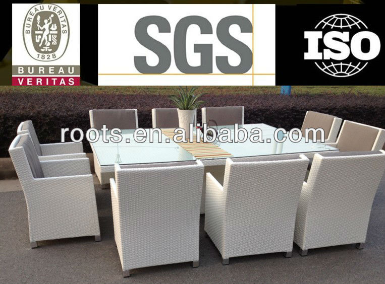 Outdoor Wicker 10 Seater Dining Table And Chairs Rattan Deck Furniture  Setting   Buy Slate Outdoor Furniture Dining Table,Gray Rattan Wicker  Furniture ...