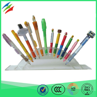 Hot selling high quality promotional customized logo ballpen plastic 3d pen