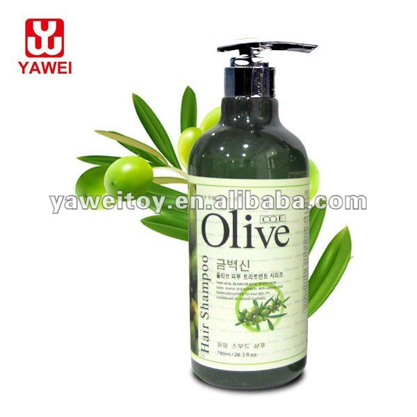 750ml olive Anti-dandruff Hairdressing Shampoo