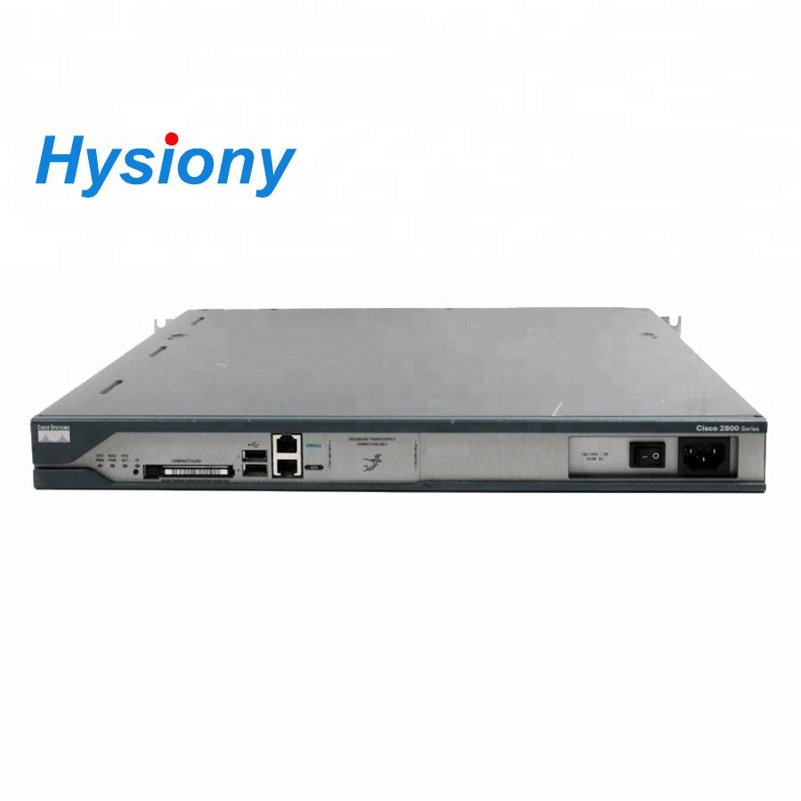 512MB DRAM//128MB FLASH ROUTER w// HWIC-16A 1 Year warranty CISCO CISCO2811-16TS