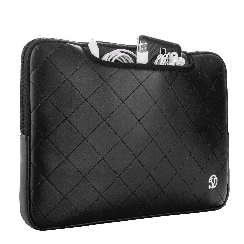 "VanGoddy 15.4"" Laptop Gummy Sleeve for Dell Latitude E6440/ 14 Rugged/ Vostro/ Inspiron 14"" Laptop/ Ultrabook"