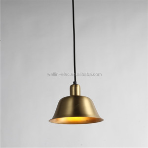 New Brass Pendant Lights Modern cooper Pendant Lamp For Home Decorations