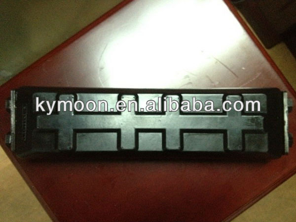 Bolt on rubber track shoe pads/rubber track pad for excavator and bulldozer