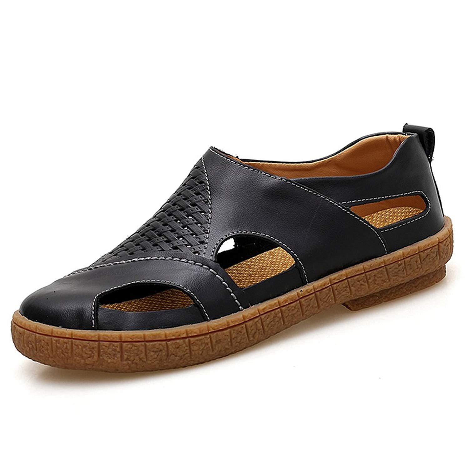 T-JULY Mens Driving Moccasins Fashion Slip On Loafers Comfortable Casual Slip on Slippers for Summer