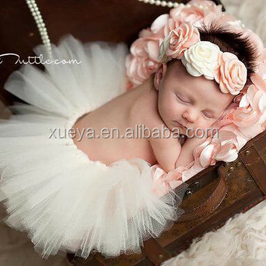 Wholesale boutique fashion cute lovely tutu skirt baby for photo props
