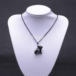 Best selling 3D yorkshire terrier pendant necklace dog necklace for women