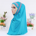 Manufacturers direct wholesale polyester national style Arab scarf women Muslim hijab