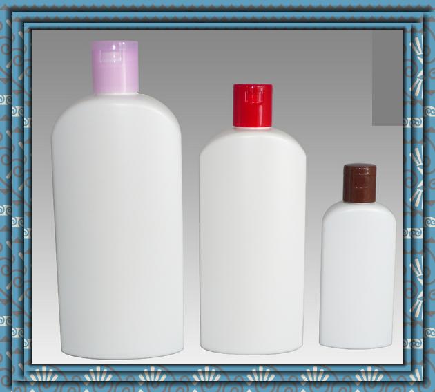 500ml 300ml 100ml White Color Shampoo Bottle Empty Shampoo