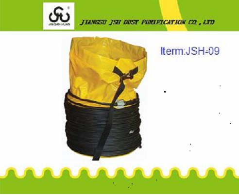 Anti-Static Flexible air ventilation tube for tunnel construction