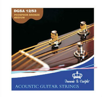 Dedo music hot sell 6 strings electric travel guitar string