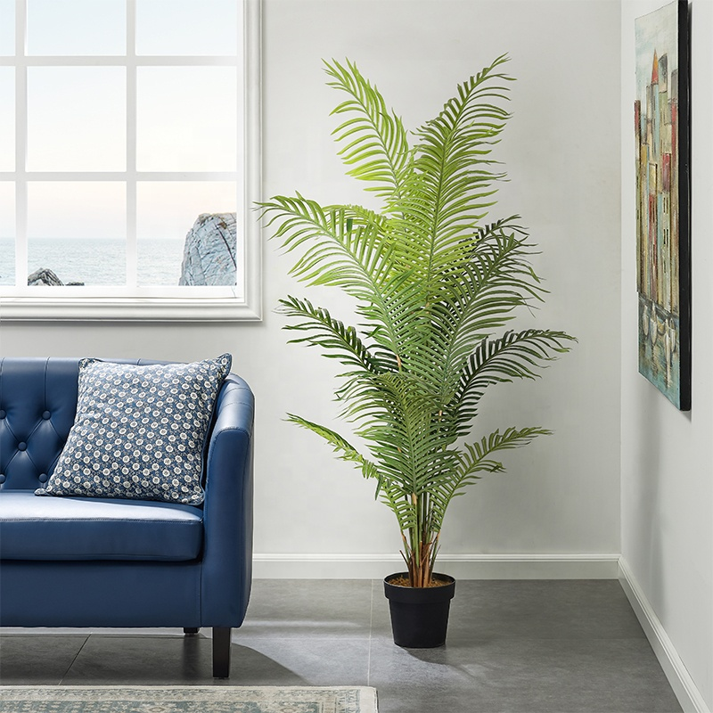 High-quality artificial green decorative tree 180 cm simulation hawaii palm tree artificial plant artificial tree