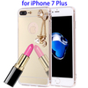 Electroplating Mirror TPU Mobile Phone Case for iPhone 7 Plus
