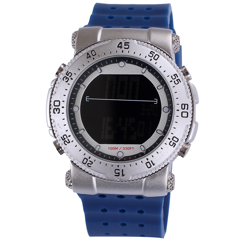 SHHORS Alloy Silicone Multifunction Electronic Watch Alarm Dive Waterproof Casual Watch Digital Top Quality Women Watches