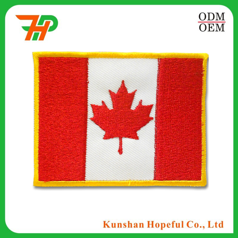 Country Canada Custom flag patches