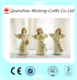 hot selling resin fairy miniature wing angel figurine