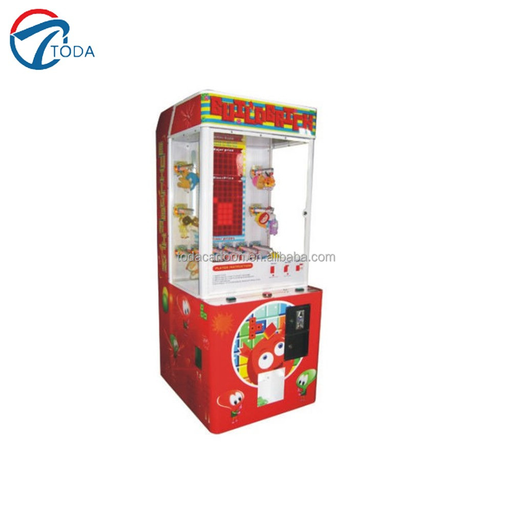 Build Brick redemption ticket arcade game machine