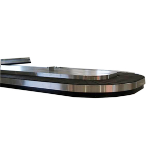 Friction drive airport baggage arrival belt carousel made in china