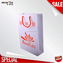 Product Packaging Custom Printing Folding Shopping Bag, Promotional Taobao Shopping Bags With Logos&