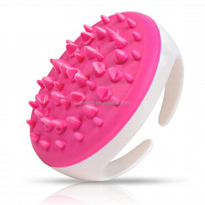 Anti cellulite massager brush mitt