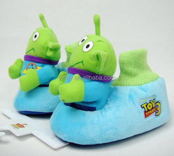452a8eb7193 2016 hot sale cartoon character shrek indoor slipper winter boots for  children